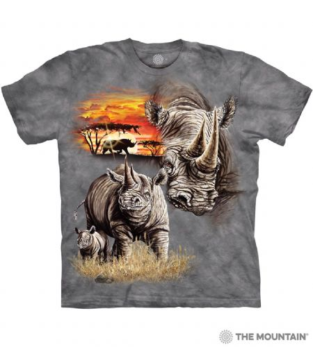 Rhinos T-shirt | The Mountain®